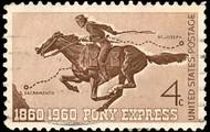 Pony Express telegraph