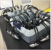 Best way to store your class set of headphones