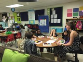 Small Groups in Ms. Allen's Class!