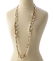 Gabrielle Pearl Necklace