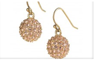 Soiree Earrings in Gold