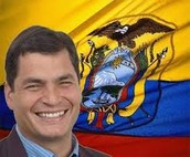 The president of Ecuador