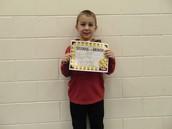 Matthew Wheeler - Third Grade