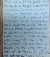 Ideas that supported student picture