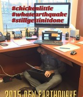 Feeder Schools Rattled by Earthquakes - Instruction Goes On!