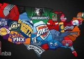 In this photo it shows the basketball teams from each country