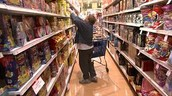 consumer buying items