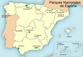 Datos básicos de los parques nacionales