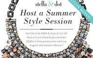 August Hostesses receive an ADDITIONAL $50 in FREE Jewelry!