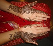 Simple Arabic Bridal Henna
