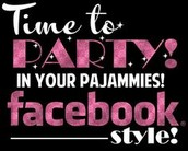 Facebook Training - Party in Your PJs!!