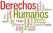 The 30 human rights / Los derechos humanos
