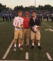 Honoring Luke Johnston & Evan Higgs