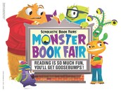 Turn Your Students Into Reading Monsters at the Book Fair