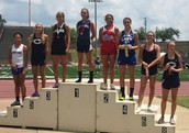 Amelia Dodson Placed 4th in the 300 Hurdles