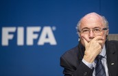 Fifa corruption forced president Sepp Blatter to step down