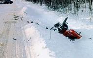 Bad crash on a trail