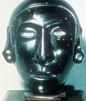 Aztec Obsidian Mask