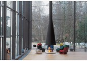 Modern fireplace- Fireplaces built with elegance to warm a room in an eco-friendly way