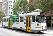 Old Melbourne trams