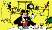 What is a Rube Goldberg device????