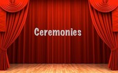 The Ceremonies are coming!