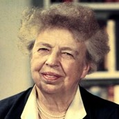 Eleanor Roosevelt At A Press Conference