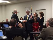 Dr. Lowder installed as CCS Superintendent 12/7/15