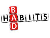 Disrupt bad habits