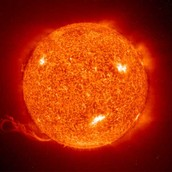 Red Giant Sun