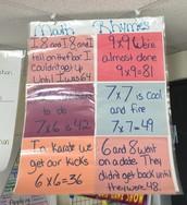 Rhyming in Math