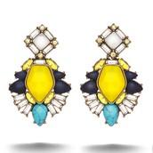 Lemoncello Stone Earrings