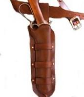 The McQueen Bounty Hunter Mare's Leg Gun Belt and Holster Set