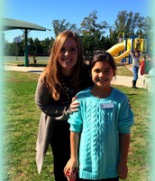 Both Ms. Fenwicks for Hero Day