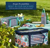 Perfect picnic in the park!