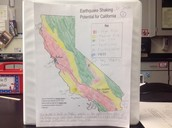 Map of Earthquakes in CA