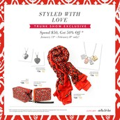 January Trunk Show Exclusive Offers