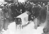 Funeral de Antonio Machado.