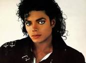 Micheal Jackson as a solo artist