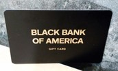 The Black Bank Of America Card