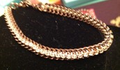 Copper Cupchain Bracelet Retail $39.00 NOW ONLY $20.00