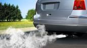 זיהום אוויר בעקבות פליטת עשן מכלי רכב