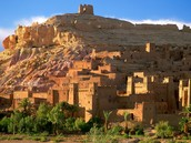 A Town in Morocco