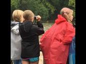 A Little Rain Never Stops a Badger!