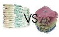 Disposable vs. cloth