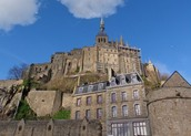 Mont St Michel is worth the hike!