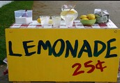 What about a lemonade stand?