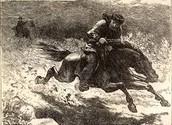 Revere on horse back