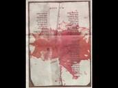 """""""שיר השלום"""" שהיה בכיס חולצתו של רבין מוכתם בדם"""
