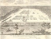 Savannah, Georgia colony, early 18th century
